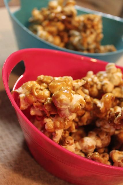 tf caramel corn last