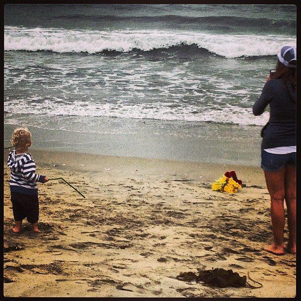 Huntington Beach paddle out