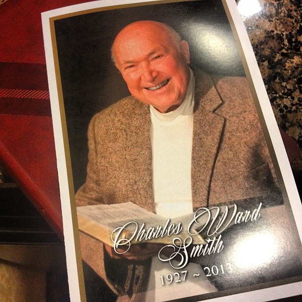Good-bye Pastor Chuck