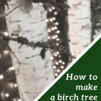 How to Make a Birch Tree