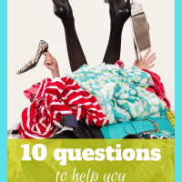 10 Questions to Help you Conquer Clutter