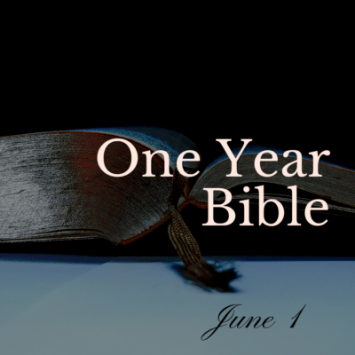 One Year Bible: June 1