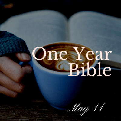 One Year Bible: May 11