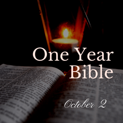 One Year Bible: October 2