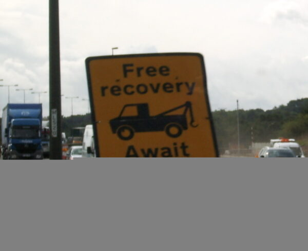 Recovery sign in Scotland