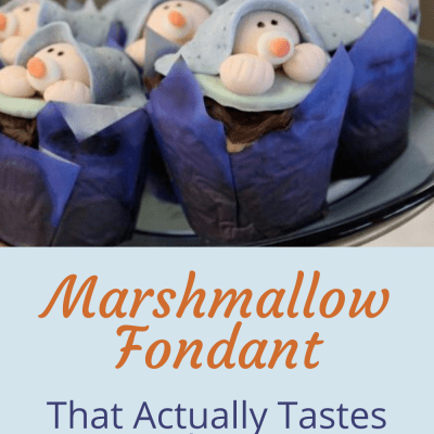 Homemade Marshmallow Fondant That is Actually Delicious