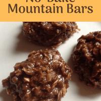 No-Bake Mountain Bars ... and a Dream
