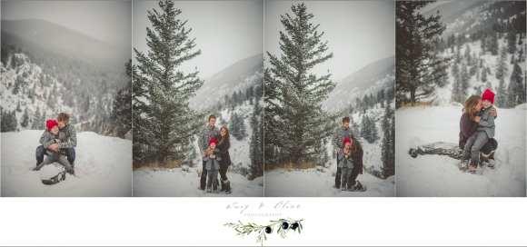 fun family, snow, rustic mountain session, Denver Colorado/Madison,WI