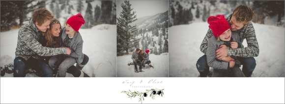 winter family session Colorado, Sun Prairie, WI