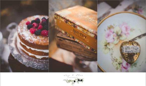vintage wedding details, austin texas