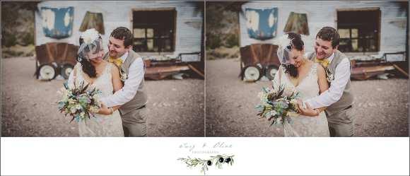 Ghost Town Nevada Wedding