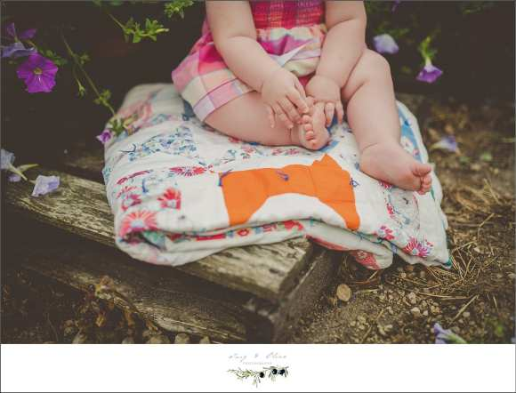 Madison Mini sessions, outdoor, rustic, 6 months old, exploring new worlds, red flowers, yellow flowers purple flowers, pallets, blankets, babies, greenery, Twig and Olive Photography, Sun Prairie, Dane County babies, TOP
