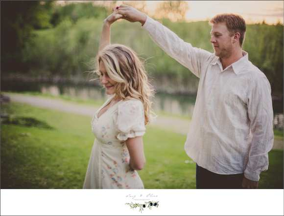 dance like no one is watching, everyone is watching, happy couples, elegant, rustic, vintage style, stylized shoots, madison area, Twig and Olive Photography sessions