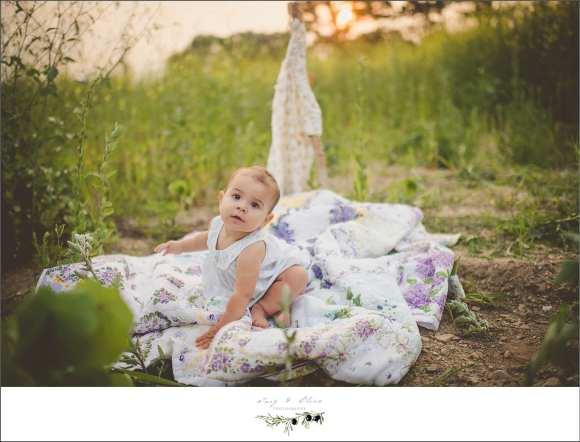 teepee, blankets, grasses, white dress, baby