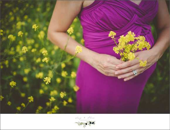 detail shots, yellow flowers, purple dresses, rings, maternity sessions, family sessions, one more, twig and olive photography