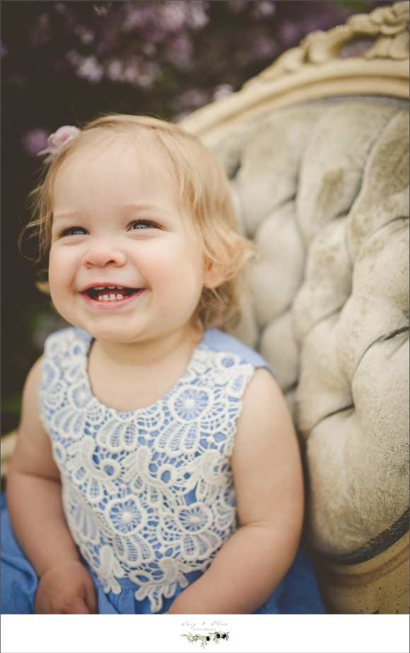 all smiles, little cherub, laughter, chair, mini sessions