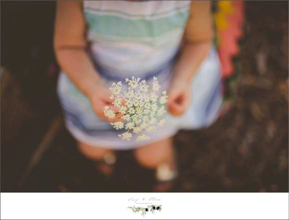 flowers, white dress, cute kid