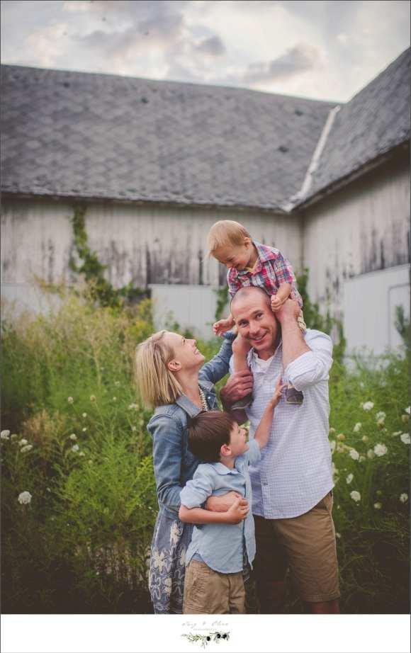 barn, family photos