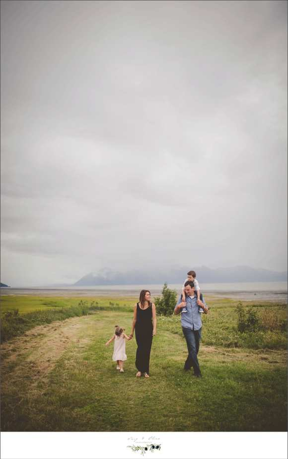 cloudy skies, Anchorage Alaska