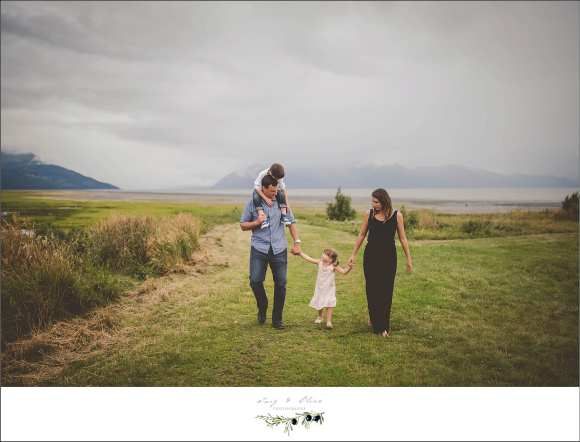 beautiful family session