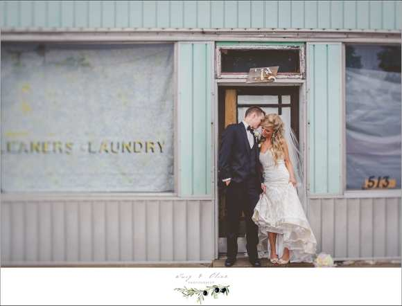 laundromat wedding