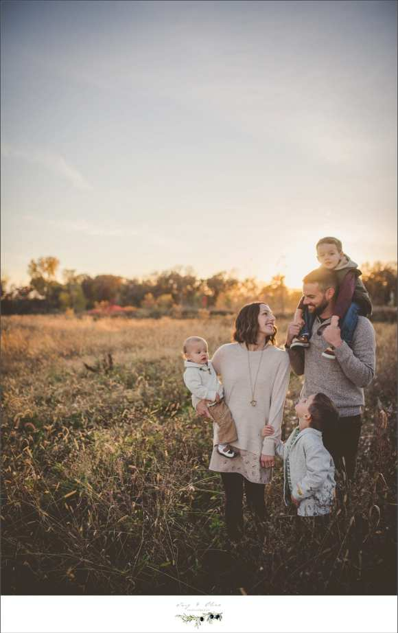 sweet family session