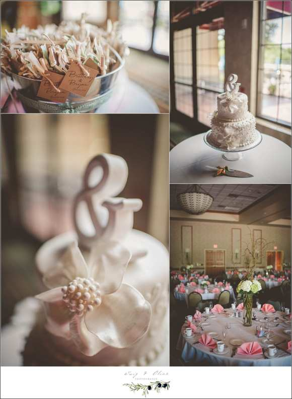 bridge wood wedding details