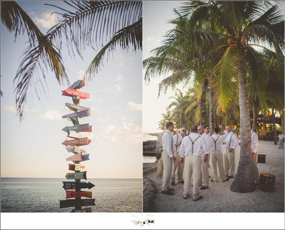 xcaret park wedding in mexico
