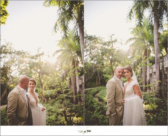 jungle wedding portraits mexico