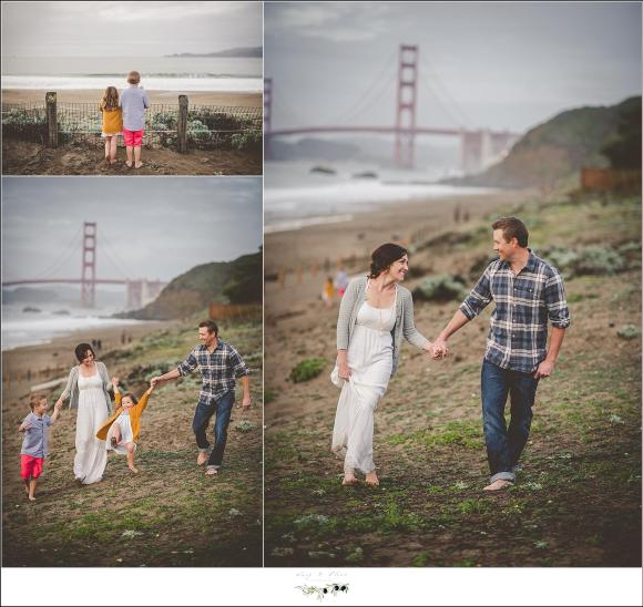 golden gate bridge family session