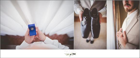 groom wedding details