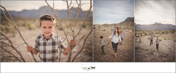 desert family session