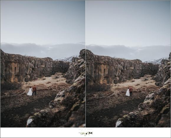 iceland wedding shoot