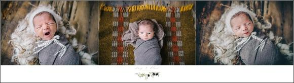 gray swaddle