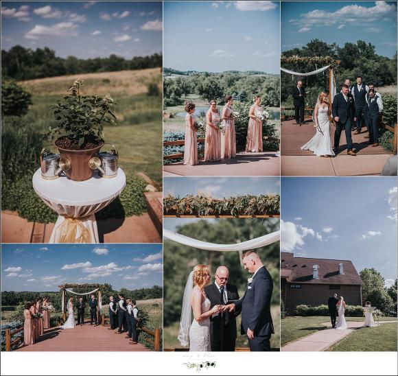 milford hills wedding ceremony