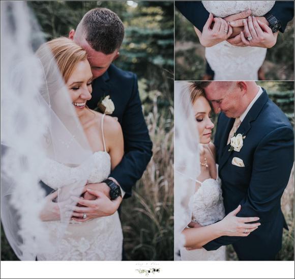 veil shots wedding photography