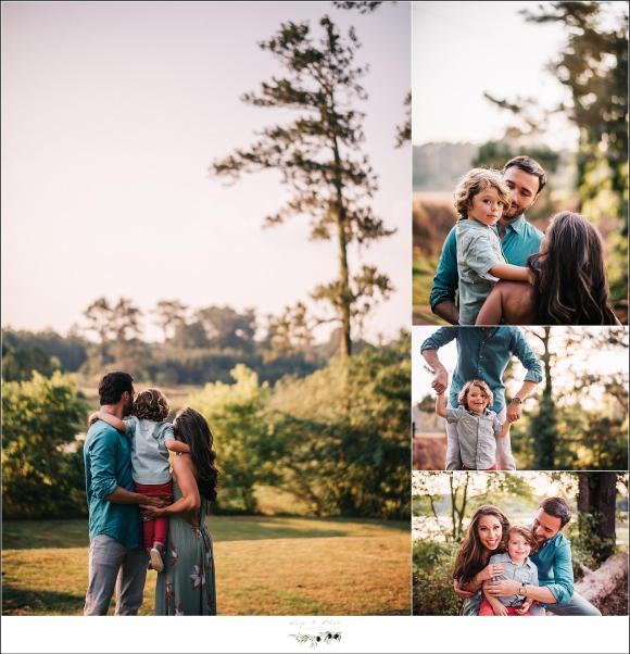 Georgia natural light family photography session