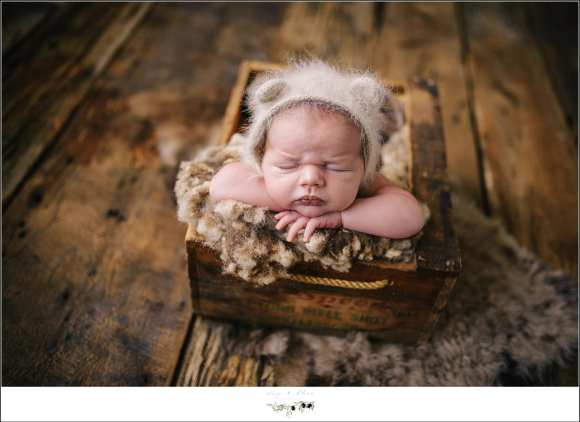 Rustic Newborn Family Photography Session