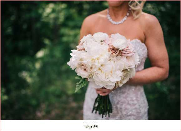 white and blush pink flowers