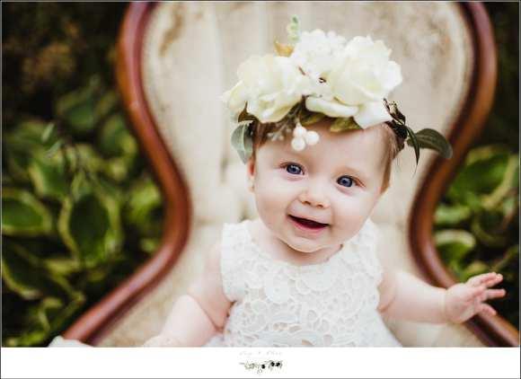 Baby Girl Flower Crown