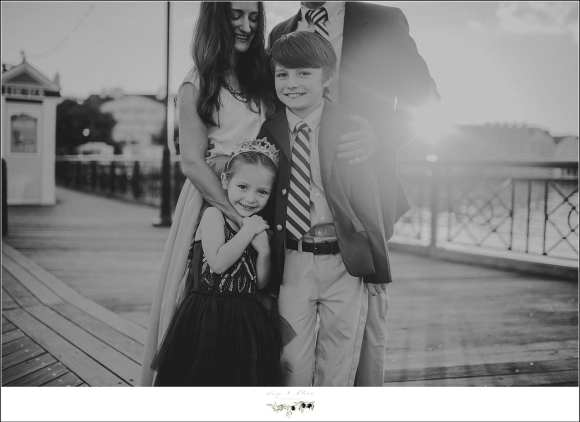 Disney Boardwalk FL Family Photography Session