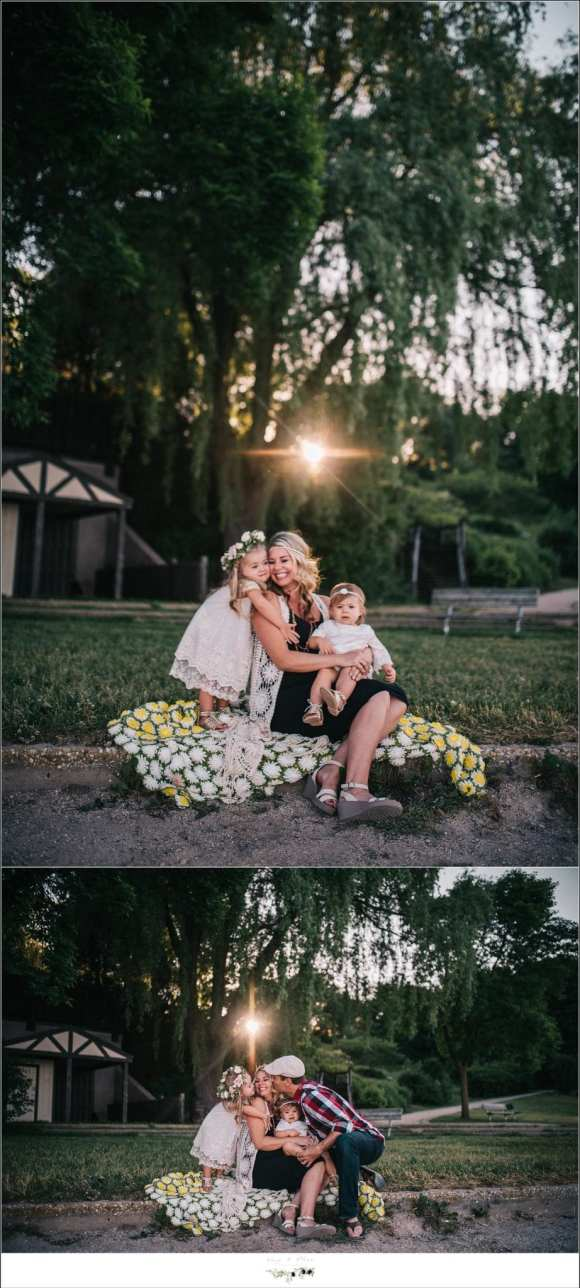 WI Outdoor Family Session