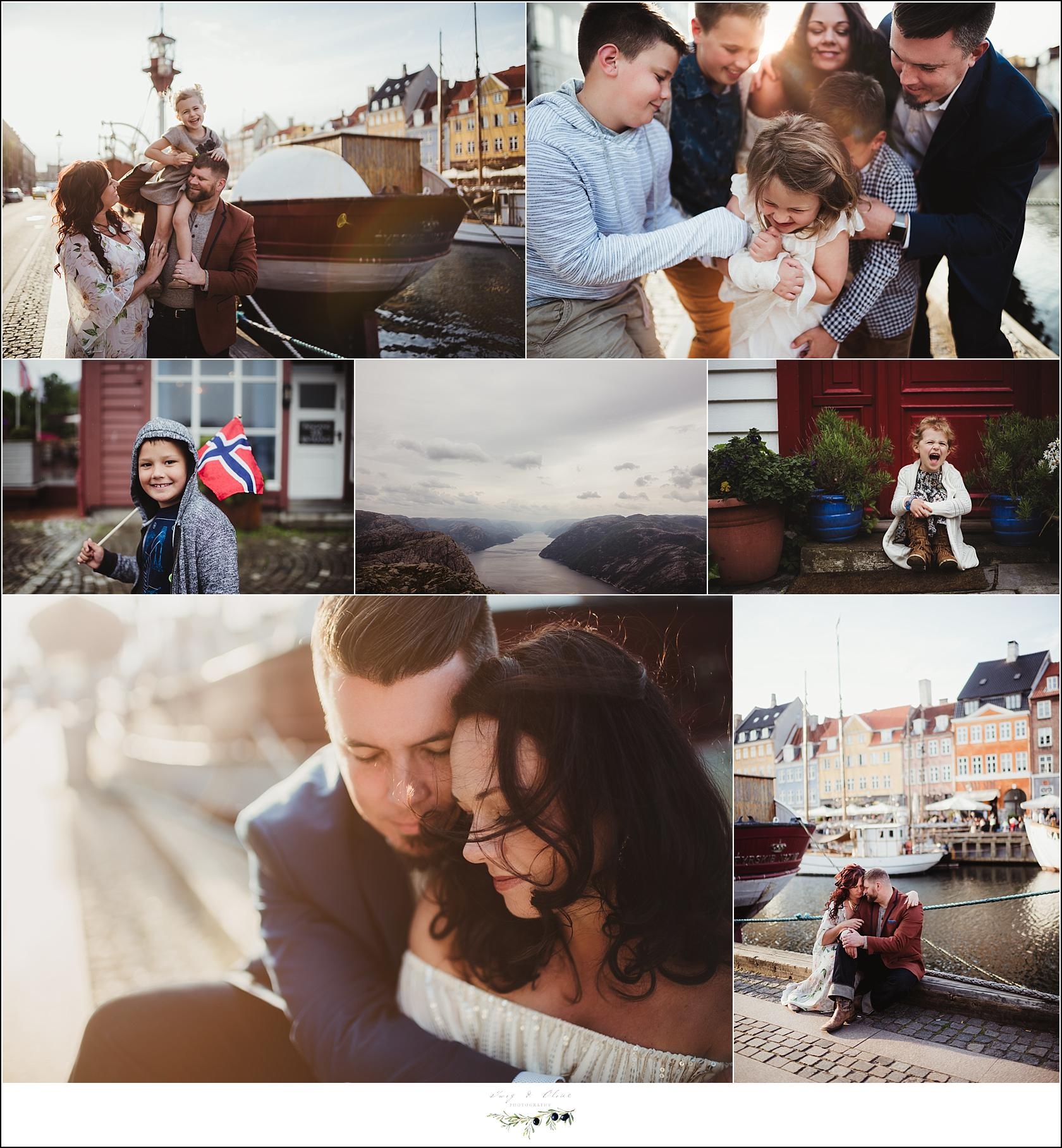 Norway family portraits