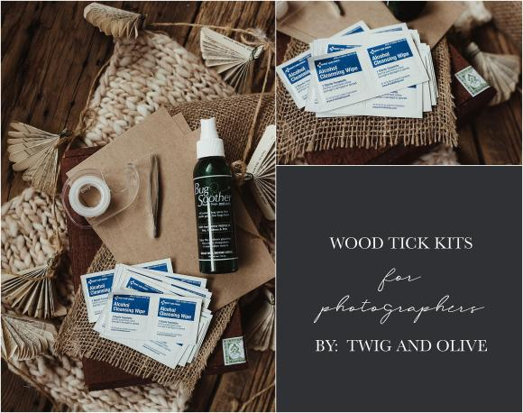 wood tick kits for photographers