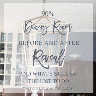 Dinging Room Design Before and After