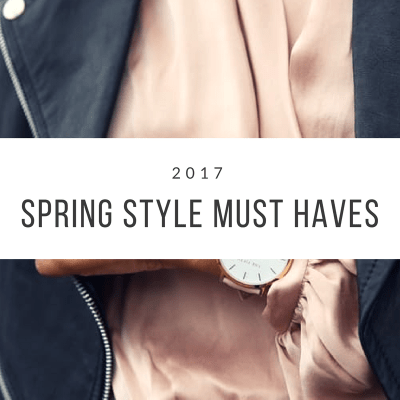 5 Style Must Haves for Spring