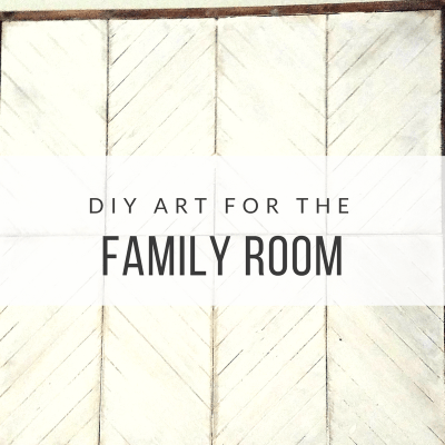 DIY Art for the Family Room