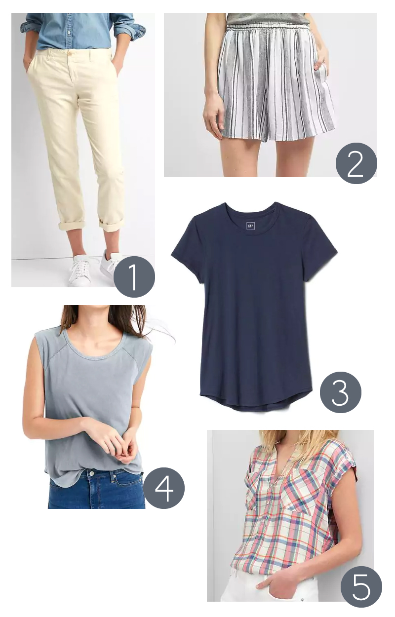 Five Favorite Casual Pieces from Gap