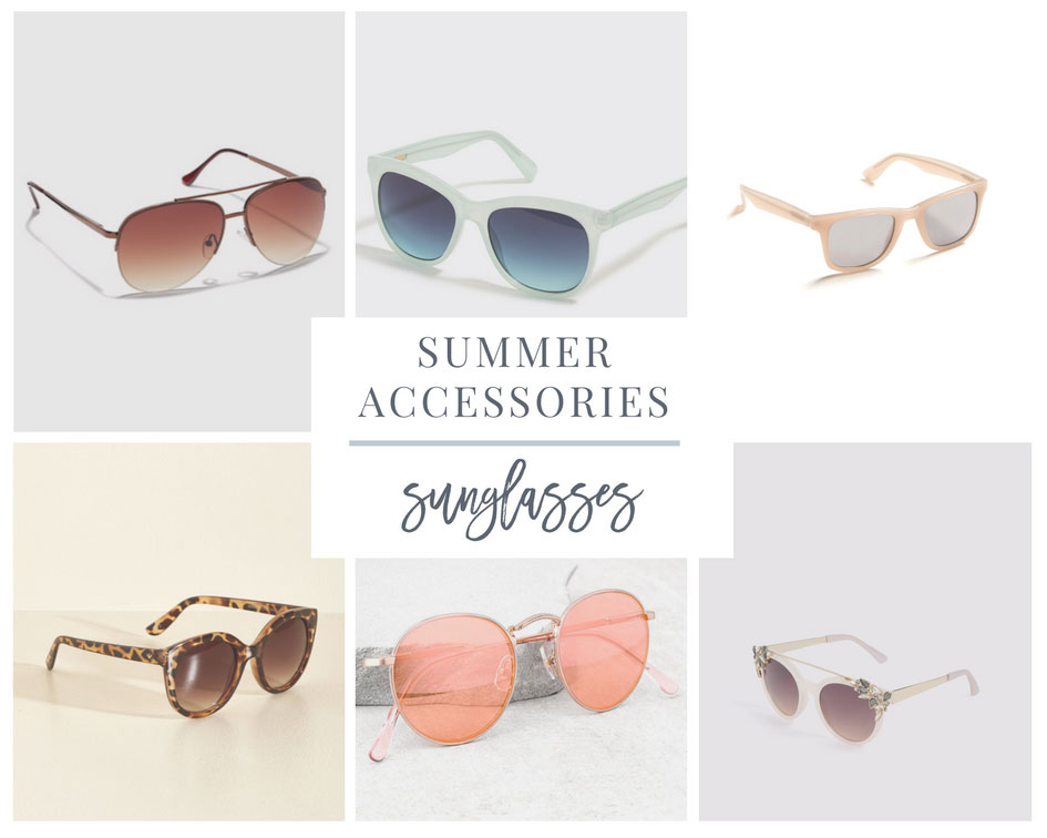 Sunglasses are a Great Summer Accessory