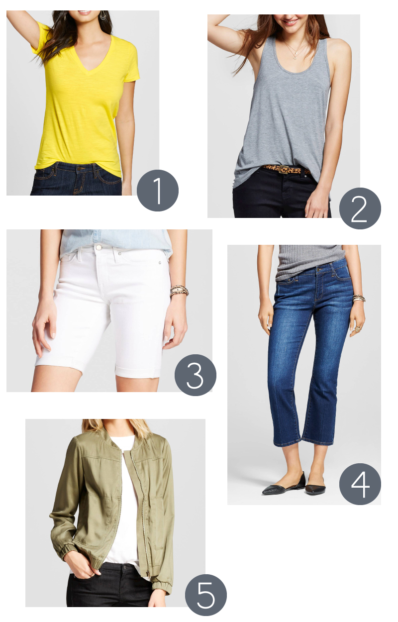 Five Favorite Casual Summer Pieces from Target